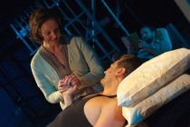 Photograph from Kiss of the Spiderwoman - lighting design by Ben Pickersgill