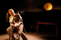 Photograph from A Christmas Carol - lighting design by Ben Pickersgill