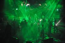 Photograph from Return to the Forbidden Planet - lighting design by Charlie Lucas