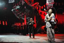 Photograph from Miss Saigon - lighting design by Michael Grundner