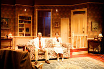 Photograph from Last of the Red Hot Lovers - lighting design by Scott Allan