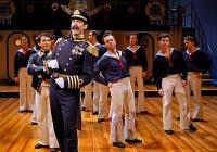 Photograph from HMS Pinafore - lighting design by Malcolm Rippeth