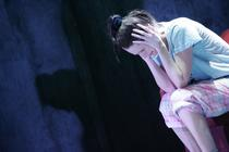 Photograph from Trainspotting - lighting design by Tim Mascall