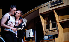 Photograph from Vantastic and Lobster - lighting design by Marty Langthorne