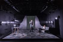 Photograph from Spy Plays - lighting design by Jack Wills