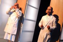 Photograph from The Smallest Person - lighting design by Ian Saunders