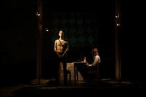 Photograph from Departure and Human Salvage - lighting design by Marty Langthorne