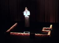 Photograph from Leftovers - lighting design by Marty Langthorne