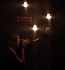 Photograph from Asphyxia - lighting design by Marty Langthorne