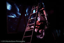 Photograph from Retroflection - lighting design by Marty Langthorne