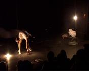 Photograph from White Squall - lighting design by Marty Langthorne