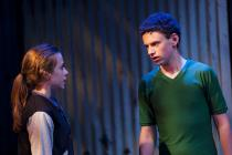 Photograph from West Side Story - lighting design by Peter Vincent