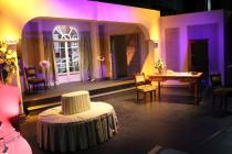 Photograph from Not Now Darling - lighting design by George Russell