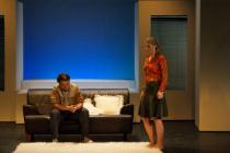 Photograph from The Graduate - lighting design by George Russell