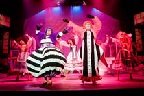 Photograph from Cinderella - lighting design by John Castle
