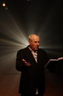 Photograph from What Are They Whispering? - lighting design by John Castle