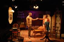 Photograph from I Am a Camera - lighting design by Charlie Lucas