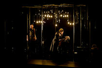 Photograph from The Hunted - lighting design by Simon Wilkinson