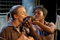 Photograph from And I and Silence - lighting design by Elliot Griggs