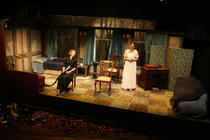 Photograph from Breaking the Silence - lighting design by Peter Vincent