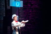 Photograph from Pass the Spoon - lighting design by Simon Wilkinson