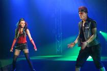 Photograph from We Will Rock You - lighting design by Pete Watts