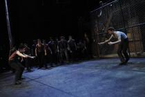 Photograph from West Side Story - lighting design by Catherine Webb