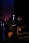 Photograph from Parade - lighting design by Martin McLachlan