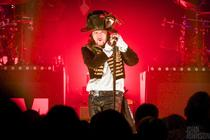 Photograph from ADAM ANT Kings of the Wild Frontier 2016 Tour - lighting design by Pete Watts
