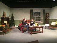 Photograph from At the Sign of the Crippled Harlequin - lighting design by Stuart Sampson