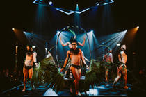 Photograph from Briefs: Close Encounters - lighting design by Paul Lim