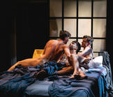 Photograph from Afterglow - lighting design by David Howe