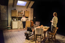 Photograph from The Children - lighting design by Robbie Butler