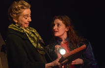 Photograph from My Mother Said I Never Should - lighting design by Robbie Butler