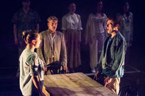 Photograph from Table - lighting design by Nigel Lewis