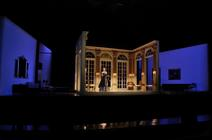 Photograph from Capriccio - lighting design by Malcolm Rippeth