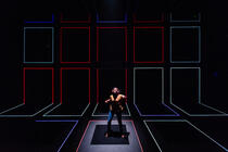Photograph from Love and Information - lighting design by Bainesey293