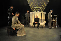 Photograph from Three Sisters - lighting design by Paul Lennox