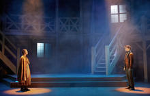 Photograph from The Snow Queen - lighting design by Charlie Morgan Jones
