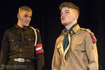 Photograph from The Good Scout - lighting design by Jack Wills