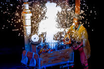 Photograph from Beauty and the Beast - lighting design by Andrew Bird