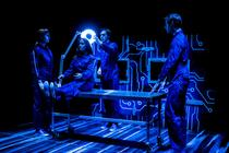 Photograph from Beyond Belief - lighting design by Sophie Bailey