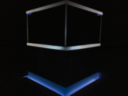 Photograph from BLUE ORANGE - lighting design by Azusa Ono