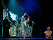 Photograph from The Tempest (Adaptation) - lighting design by Paul Milford