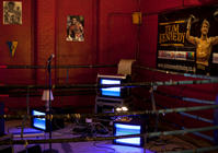 Photograph from Bravado - lighting design by Marty Langthorne