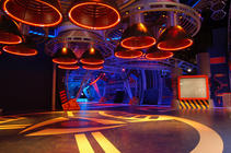 Photograph from Space Centre Bremen - lighting design by Durham Marenghi