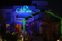Photograph from Cascade Complex Grand Opening 2003 - lighting design by Mohamed Ghanem