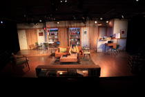 Photograph from 4000 MILES - lighting design by Wally Eastland