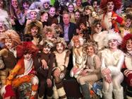 Photograph from Cats - lighting design by Alex Cann