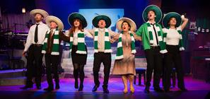 Photograph from Celtic The Musical - lighting design by JimmiRichardson
